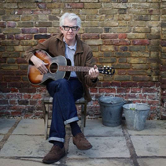 Nick Lowe with Los Straitjackets